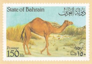 Arab State Of Bahrain Stamp Horror Of Horrors Holiday Postcard