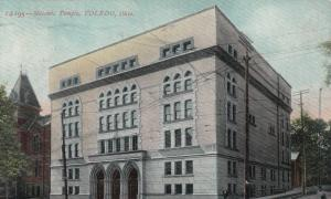 TOLEDO , Ohio , PU-1909 : Masonic Temple