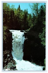 Postcard Moxie Falls in Maine (89 ft Waterfall) Moxie Stream  A21