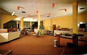 Florida Wauchula State Bank Interior 1964