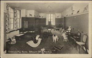 New York City Manhattan Biltmore Hotel Children's Play Room c1910 Postcard