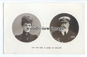 r1751 - King Edward VII & Princess Alexandra - postcard