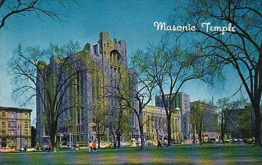The Masonic Temple Detroit Michigan