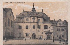 KOBLENZ , Germany , 00-10s ; Realgymnasium