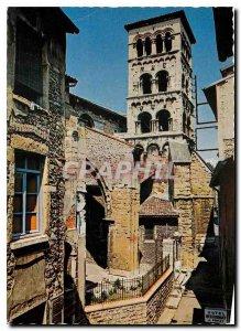 Modern Postcard Vienna on the Rhone Romanesque church of Saint Andre le Bas