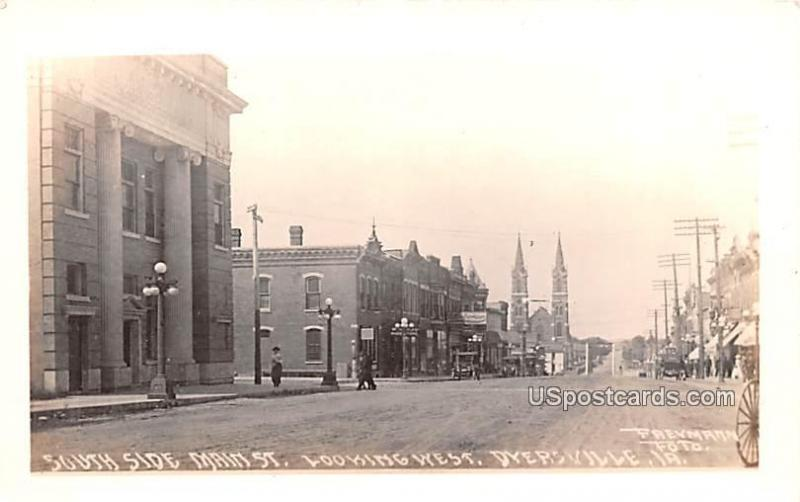 South Side Main Street Dyersville IA Unused