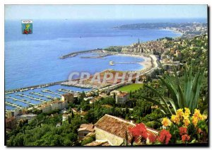 Postcard Modern French Riviera French Riviera Menton Alpes Maritimes general ...
