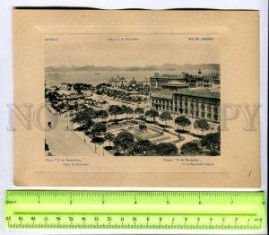 431530 BRAZIL RIO de JANEIRO 15 November square Vintage Embossed POSTER
