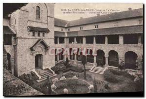 La Cote Saint Andre - The Barracks (former seminary) Premiere of entry courty...