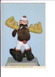Canada Summer Games Mascot, 1981 Thunder Bay, Ontario, Photo Ettinger