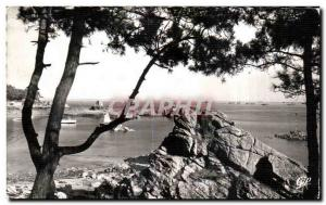 Postcard Old Island Brehat La Cote Sauvage