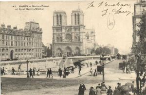 CPA Paris 5e (Dep. 75) Notre-Dame (57295)