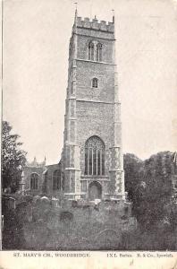 England Woodbridge St. Mary's Church