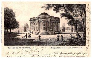 Germany Braunsefweg   Augustenschloss zu Riehmond