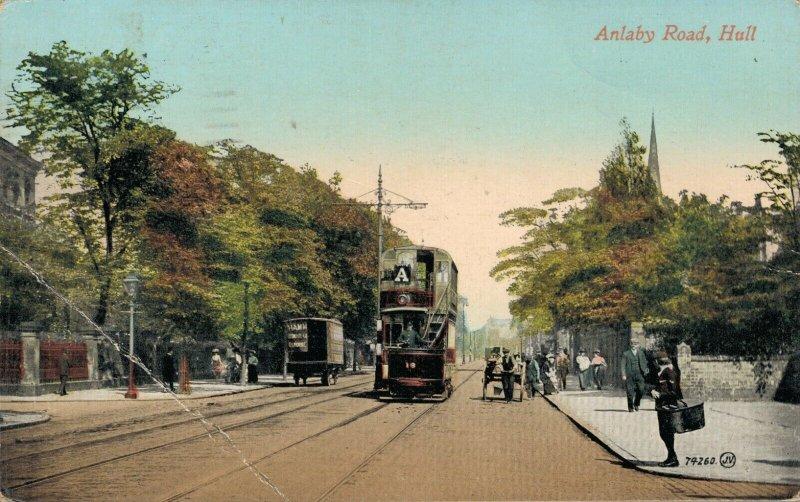 Uk Anlaby Road Hull 03.75
