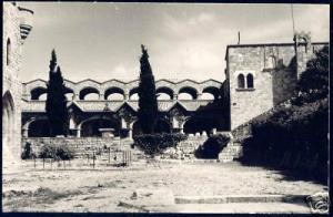 greece, RHODES RHODOS, Filerimos Monastery (1950) ppc