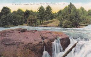 Wisconsin Big Eddy Falls Menominee Indian Reservation At Big Eddy Falls