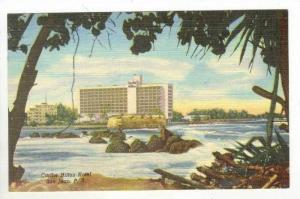 NEW Caribe Hilton Hotel, San Juan Puerto Rico, 1940s
