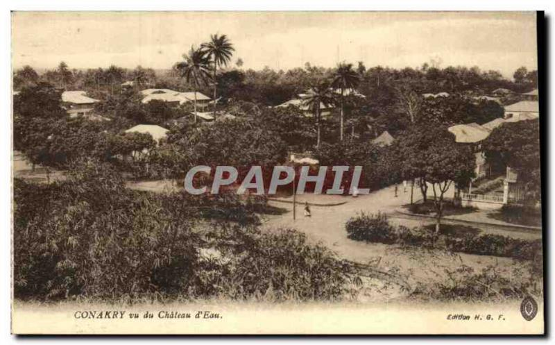 CPA Guinea Conakry seen of the castle water