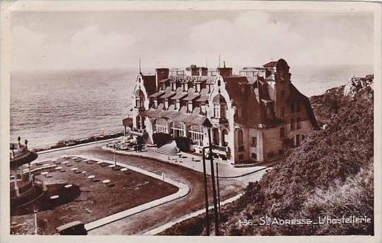 France Le Havre Hotel COOP Real Photo