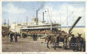 Packet, James Lee Steamer, Steam Boat, Steamboat, Ship, Ships, Postcard Post ...