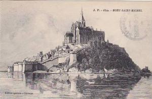 France Mont-Saint-Michel Abbaye