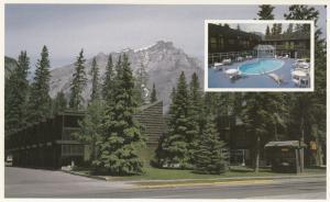 BANFF , Alberta , Canada , 60-80s ; Charlton's Evergreen Court