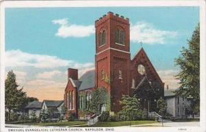 Ohio Napoleon Emanuel Evangelical Lutheran Church