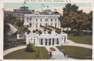 East Entrance Of White House 1926 Washington D C