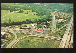Petersburg, Virginia/VA Postcard, Aerial View Of Petersburg Motel