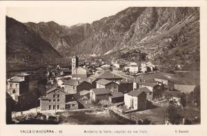 RP: ANDORRA , 30-40s ; Andorra la Vella - capital de les Valls
