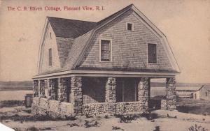 PLEASANT VIEW, Rhode Island, PU-1909; The C. B. Bliven Cottage