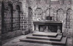 France Domfront Notre Dame sous l'Eau Interieur Real Photo