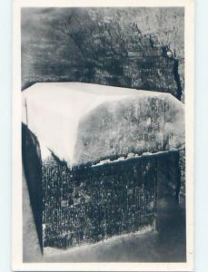 old rppc TOMB OF THE SACRED BULLS Sakkara Egypt HM1548