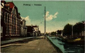 CPA VEENDAM Postweg NETHERLANDS (604121)