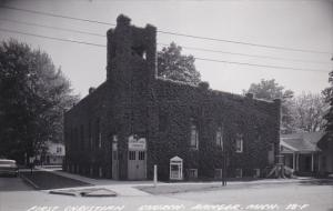 RP: Ivy Covered First Christian Church, Bangor, Michigan, 1940-60s