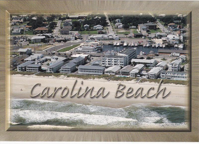 Carolina Beach , North Carolina , 60-80s ; Panorama view #3
