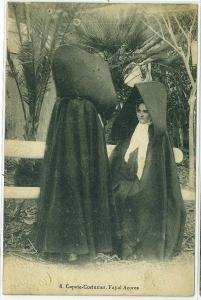 Capote-Costumes, Fayal Acores - Portuguese
