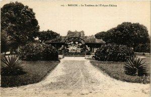 CPA AK INDOCHINA Saigon Le Tombeau de l'Eveque VIETNAM (956641)