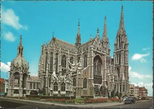 Postcard Vintage c1970's St Peter & Paul Church OSTENDE Belgium