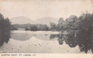 Sleeping Giant, Mt. Carmel, Connecticut, Early Postcard, Unused