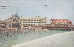 California Long Beach Ocean Front 1926