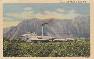 ISLAND OF OAHU , Hawaii , PU-1943 ;  Sugar Mill
