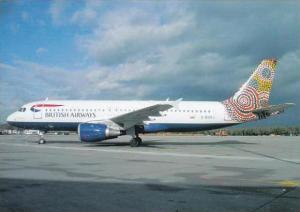 British Airways Airbus A 320 211 G BUSJ