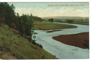 TRURO , Nova Scotia , Canada , 1900-10s ; Salmon River from Bible Hill