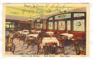 Interior, Corner of the Horbrau, Hotel Mayfair, Saint Louis, Missouri, 30-40s