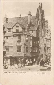 EDINBURGH, Scotland, 1900-1910's; John Knox's House