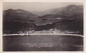 RP, Aerial view of  Sechelt, B.C., Canada,  00-10s
