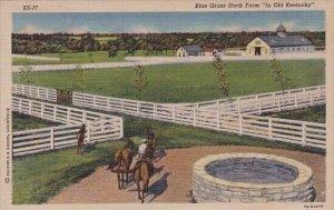 Blue Grass Stock Farm In Old Kentucky 1950