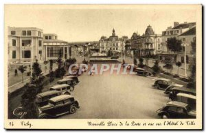Old Postcard Vichy New Place of Post and views of the city & # 39hotel